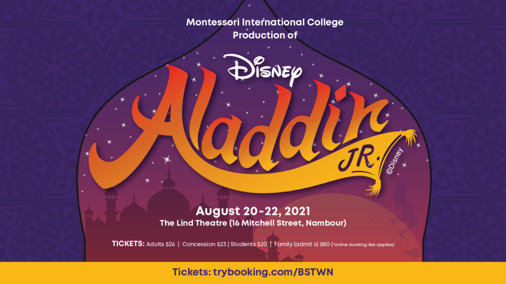 Aladdin Jr Banner