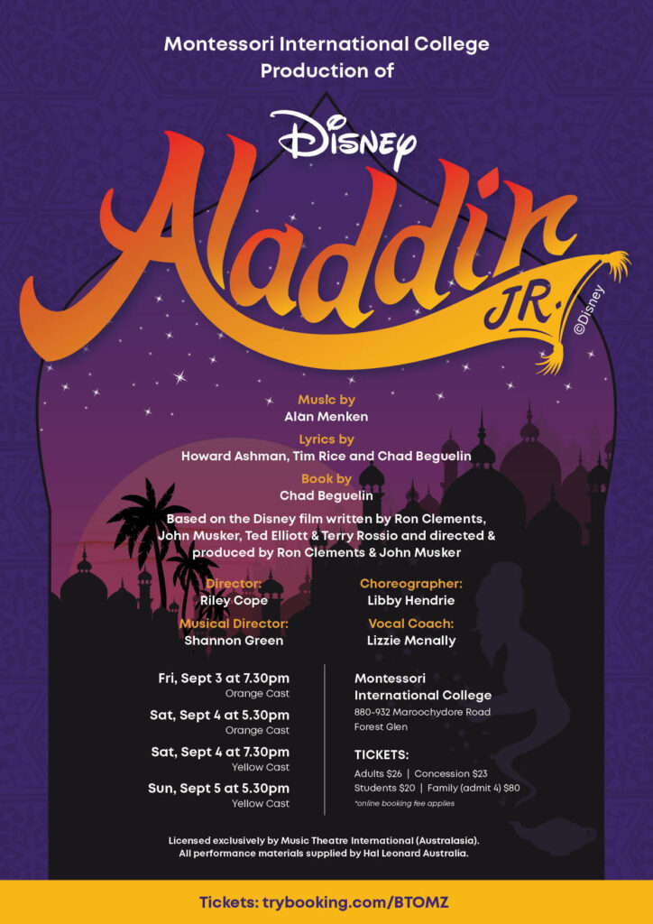 Aladdin Jr Poster